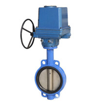 Wafer Concentric Type EPDM Seat Electric Regulating Butterfly Valve (D971X)